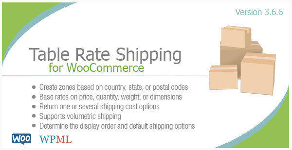 Wpml for Table rate shipping