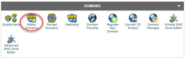 how to add external domains to siteground
